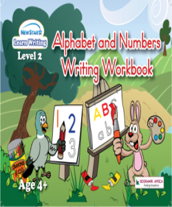 Alphabet and Numbers Writing Workbook: Level 2 ( Plus Colouring Fun)