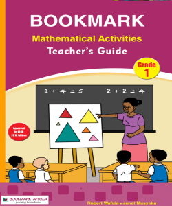 Mathematical Activities Grade1 -Teacher's Guide