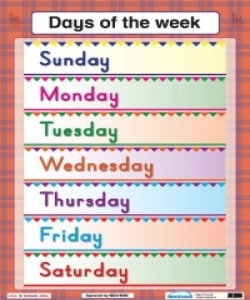 Telling Time/Days of the week - PP1 and PP2