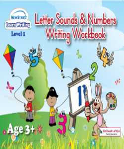 Letter Sounds and Numbers Writing Workbook: Level 1 (Plus Colouring Fun)