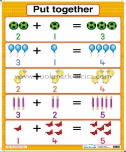 Put Together: Counters only/Counters with numerals - PP2