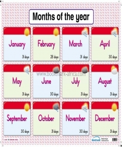 Our Weather/Months of the year - PP1 and PP2