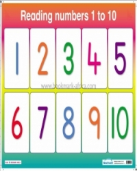 Reading Numbers 1 to 10/ Count 1 to 4 - Day Care and PP1