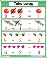 Take Away: Counters only/Counters with numerals - PP2