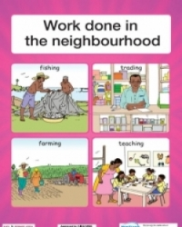 Work done in the neighbourhood/Tools used at home - PP1 and PP2